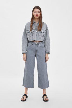 Zara Jeans culottes mid-rise