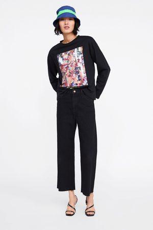 Zara T-shirt com estampa fotográfica