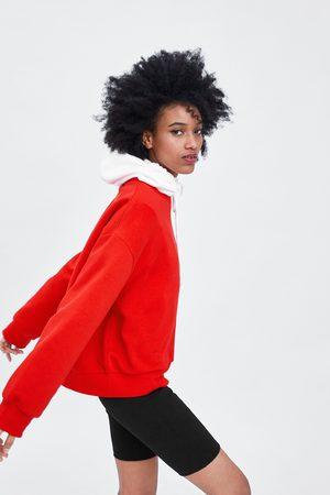 Zara Calções bermuda com costuras