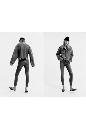 Zara Jeans zw premium 80´s high waist venice blue