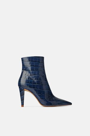 4eddb98f2e Zara Botins de Senhora Online Comprar