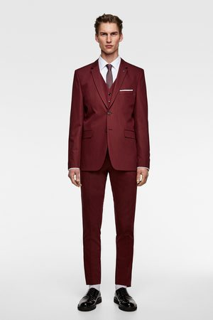 Zara Colete de conjunto chintz confort tailoring