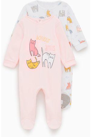 Zara Pack de dois pijamas com gatinhos