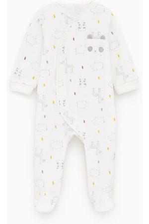 Zara Pijama de velvet print