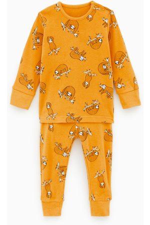 Zara Pijama com preguiçosos
