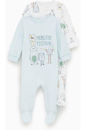 Zara Pack de dois pijamas com monstros