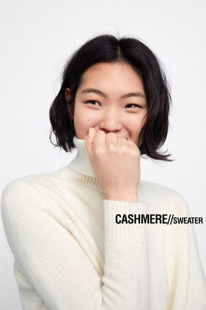 Zara Sweater caxemira gola alta