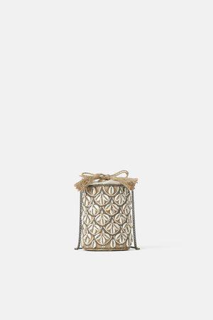 Zara Mala a tiracolo tipo cesta com conchas