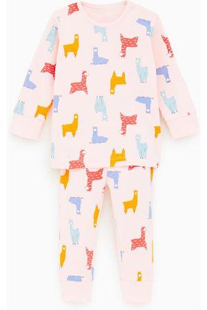 Zara Pijama com chamas