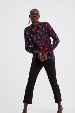 Zara Camisa às bolinhas