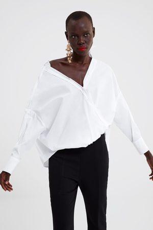 Zara Camisa popelina