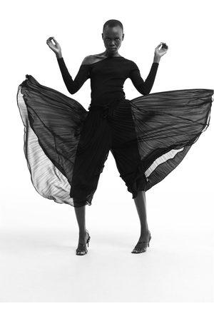 Zara Culotte com plissado