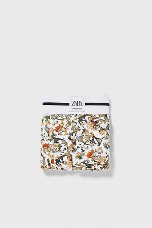 Zara Boxers com estampado barroco