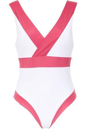 Brigitte Panelled swimsuit