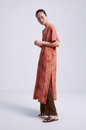 Zara Túnica tie-dye