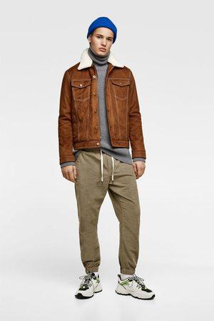 Zara Contrast denim jacket