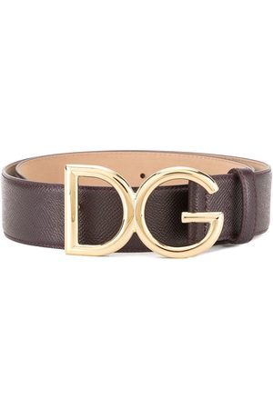 Dolce & Gabbana Branded buckle belt
