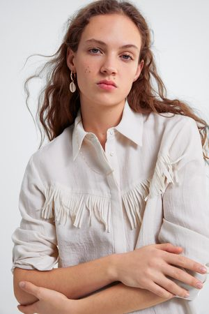 Zara Camisa franjas