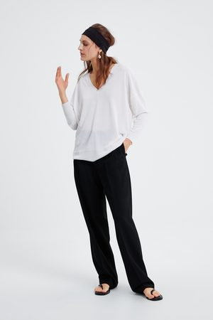 Zara Camisola oversize decote em v