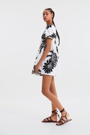 Zara Vestido com estampado floral