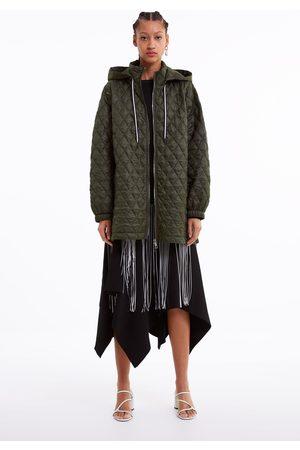 Zara Blusão acolchoado com capuz