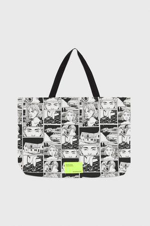 Zara Senhora Shoppers - Mala tote bag women in art collection © ana mushell 2019
