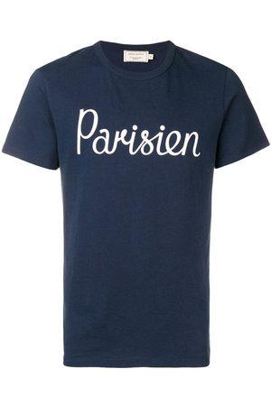 Maison Kitsuné Navy Parisien T-shirt