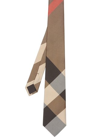 Burberry Modern cut oversized check tie