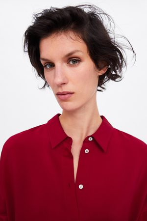 Zara Camisa comprida oversize