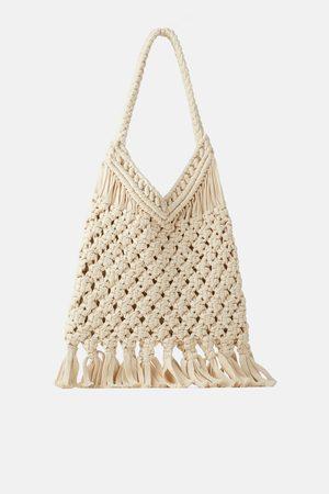 Zara Mala tote bag crochet