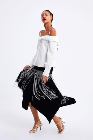 Zara Blusa ombros descobertos