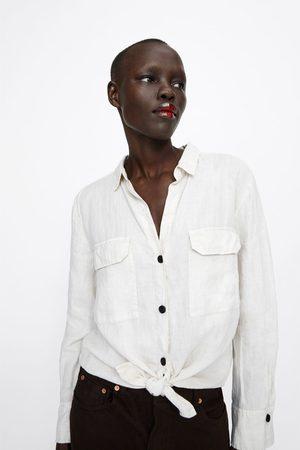 Zara Camisa de linho