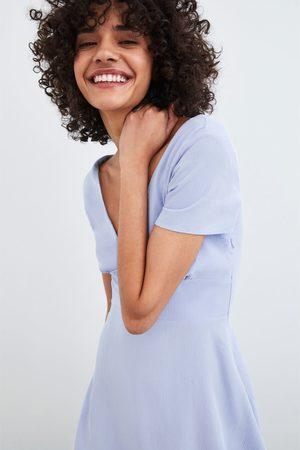 Zara Vestido textura
