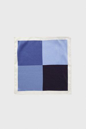Zara Lenço de bolso quadrado