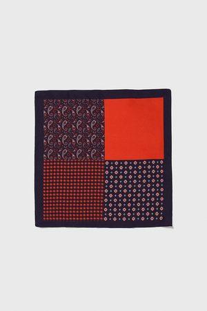 Zara Lenço de bolso combinado