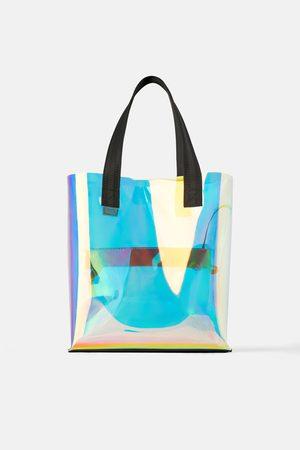 Zara Tote bag iridiscente
