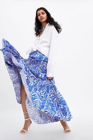 ff1a5970db Saias Zara de senhora lojas online baratos