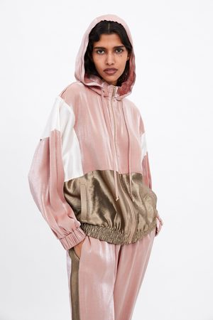 Zara Sweatshirt color block