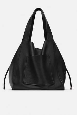 Zara Bolsa shopper pele
