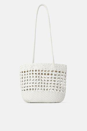 Zara Mala shopper trançada