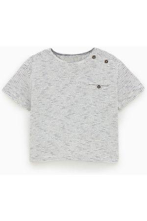 Zara T-shirt às riscas