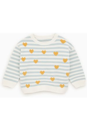 Zara Sweater com corações e