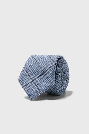 Zara Gravata larga quadrados