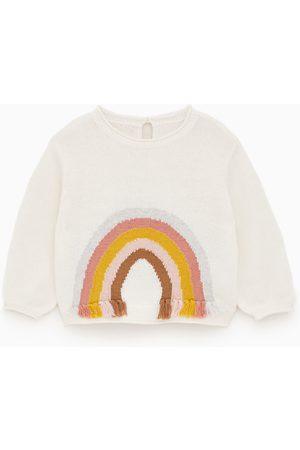Zara Sweater com arco-íris