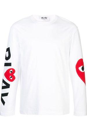 Comme des Garçons Almond-eye long-sleeved T-shirt