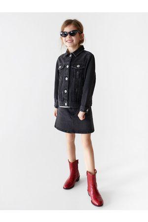 Zara Criança Botins - Botim pele cowboy