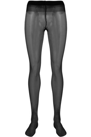 Saint Laurent Senhora Collants & Ligas - Crystal embellished tights