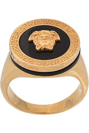 VERSACE Resin medusa ring