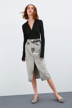 Zara T-shirt tipo camisa polo