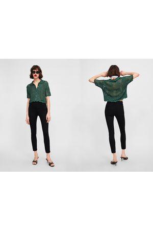 Zara Jeans zw premium high waist revolve black